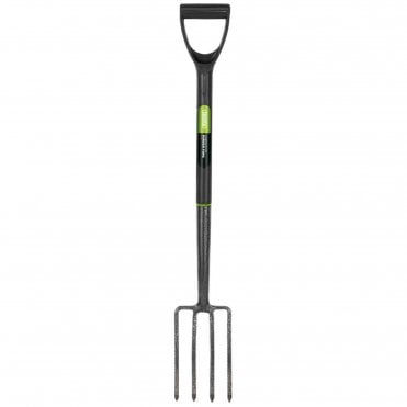 Carbon Steel Border Fork with Plastic Handle