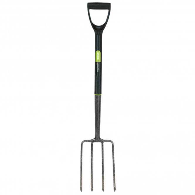 Draper Carbon Steel Digging Fork with Plastic Handle