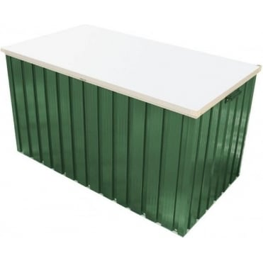 Emerald Metal Cushion Box 4X2