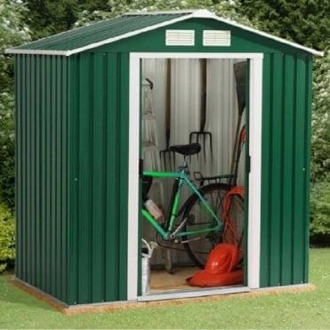Emerald Parkdale Metal Apex Shed 6X6