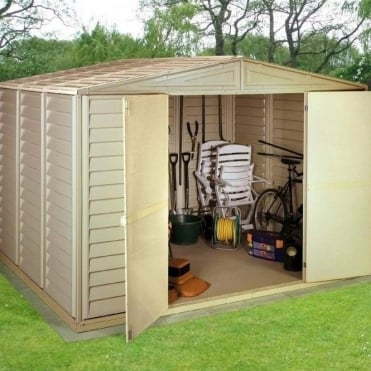 Woodbridge Plastic Apex Shed 10X8
