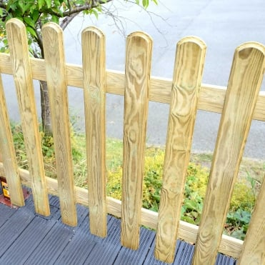 Elite Profiled Picket Fencing