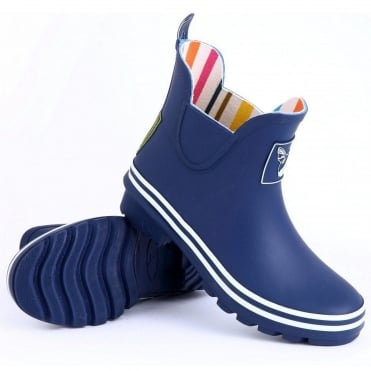 Blue Meadow Ankle Wellies