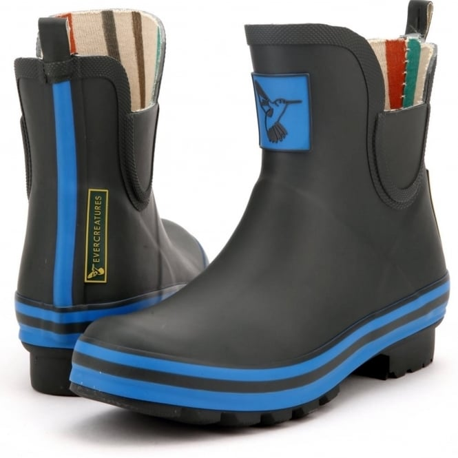 Evercreatures Diesel Triumph Meadow Ankle Wellies