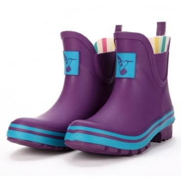Eggplant Meadow Ankle Wellies