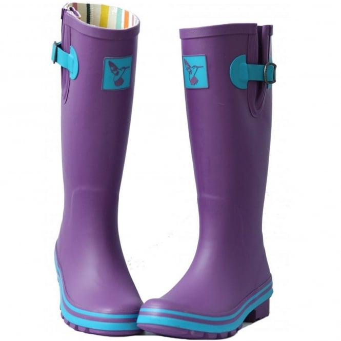 Evercreatures Eggplant Obsession Wellies