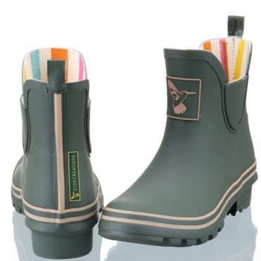 Green Meadow Ankle Wellies