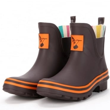 Terracotta Meadow Ankle Wellies