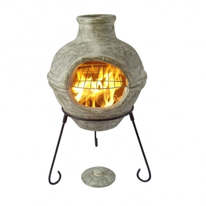 Gardeco Cozumel Two-Part Chimenea