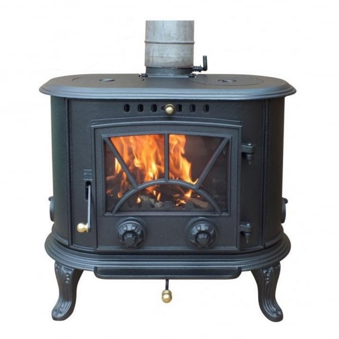 Gardeco Penn Cast Iron Multi-Fuel Stove 8.33kW