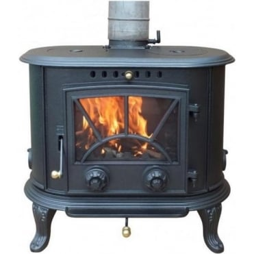 Penn Cast Iron Multi-Fuel Stove 8.33kW