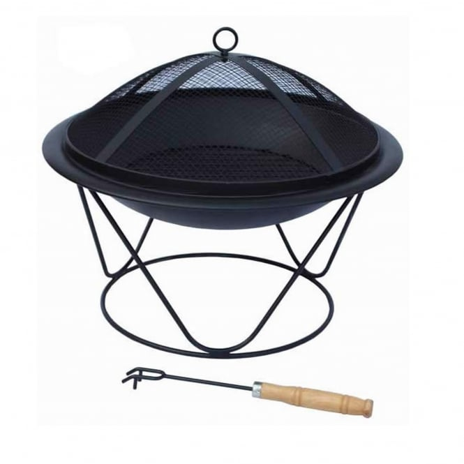 Gardeco Quasar Steel Firepit Medium