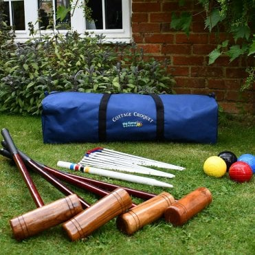 Cottage Croquet Set with Storage Bag