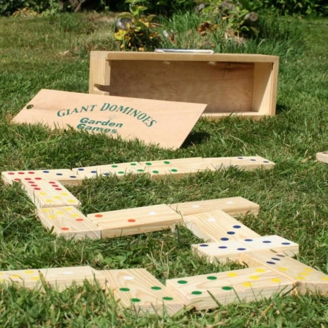 Garden Games Giant Dominoes In a Box