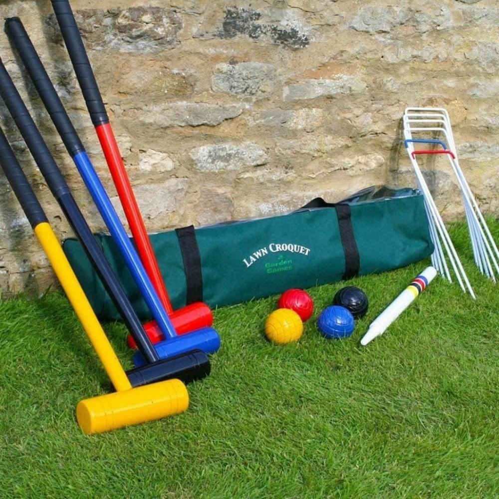 Lawn Croquet Set