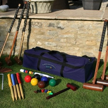 Longworth 6 Player Croquet Set with Storage Bag