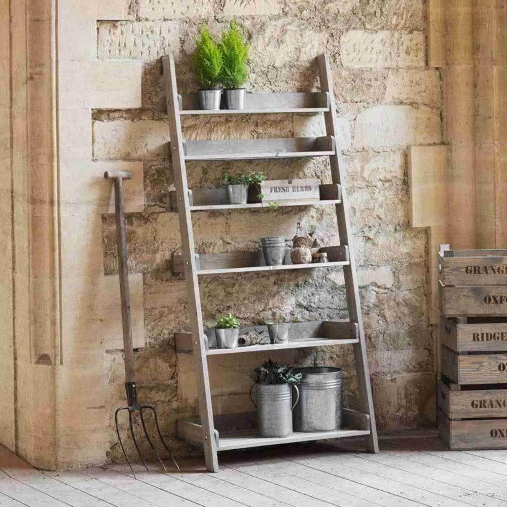 Genial Aldsworth Wide Shelf Ladder