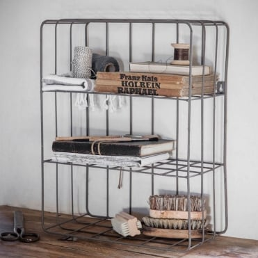Farringdon Wirework Wall Crate