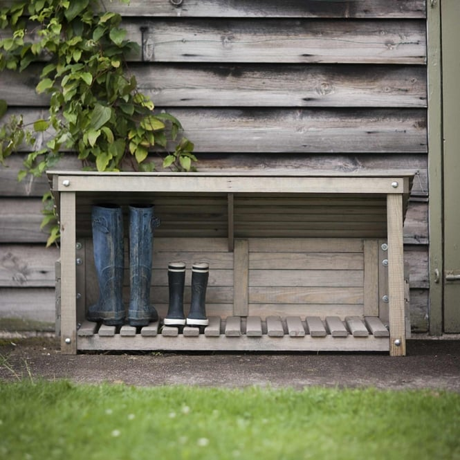 Garden Trading Wooden Welly Store