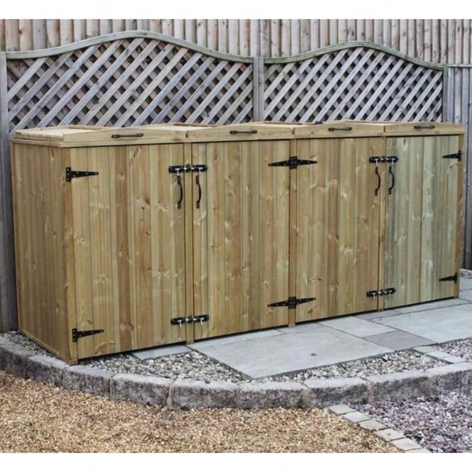 Garden Village Supreme Quad Bin Chest