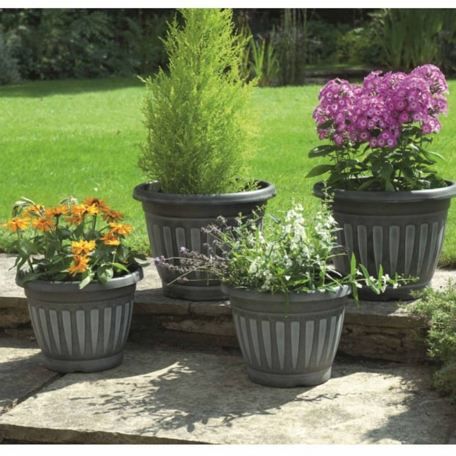 Greenhurst Georgian Style Planters - Pack Of Four