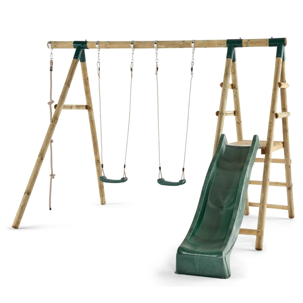 Plum Giant Baboon Wooden Swing And Climbing Frame | Garden Street