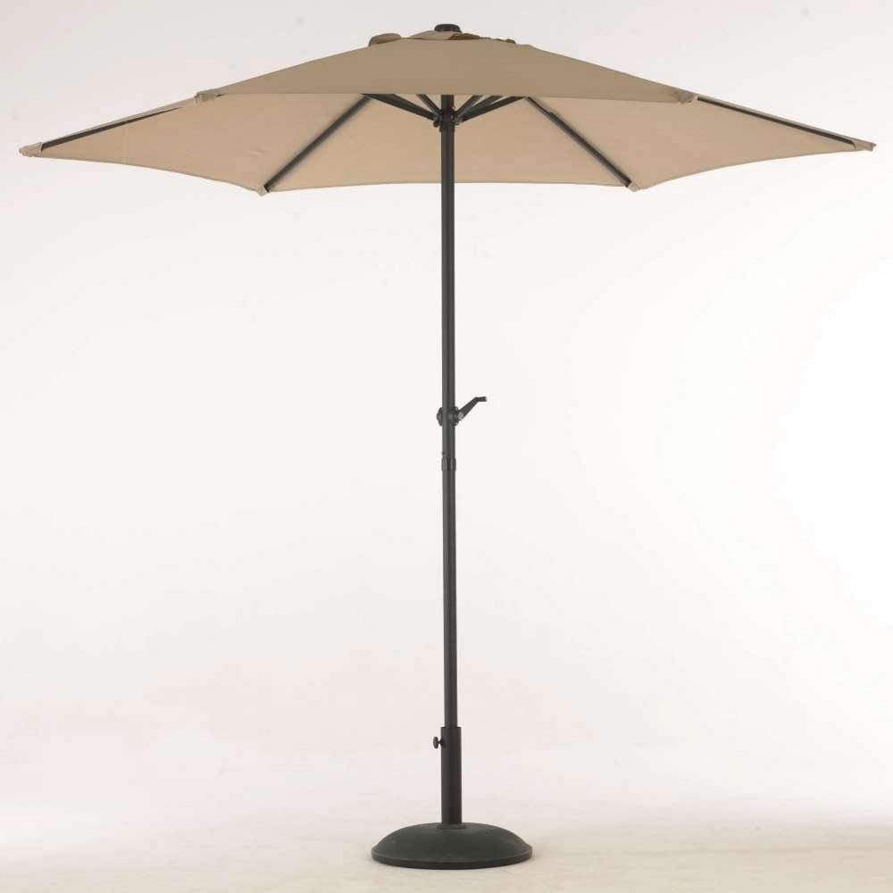 parasol aluminium cool elizabeth m round aluminium crank parasol taupe with parasol aluminium. Black Bedroom Furniture Sets. Home Design Ideas