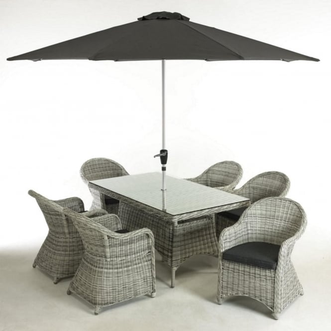 Glendale Bewdley 6 Seater Dining Set