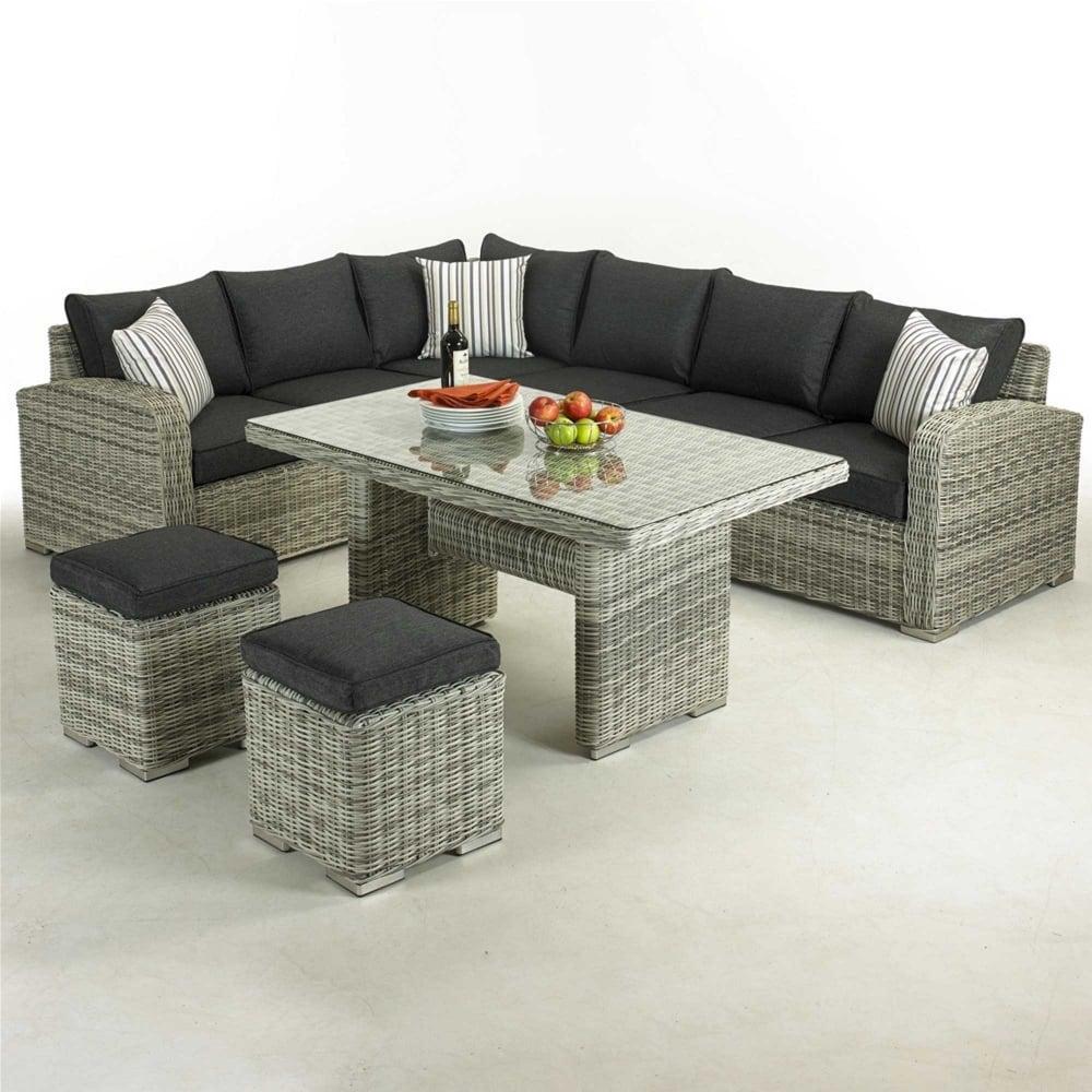 Corner Sofa Set For Garden: Glendale Broadwater Corner Sofa Dining Set