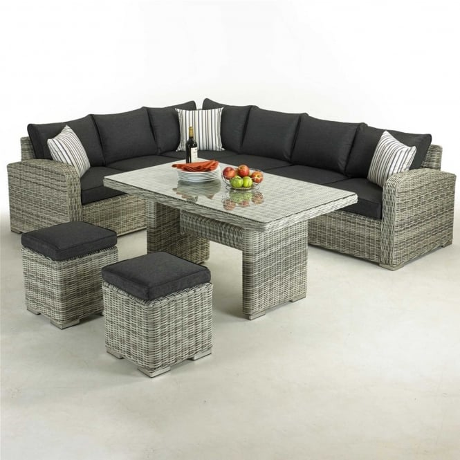 Glendale Broadwater Corner Sofa Dining Set
