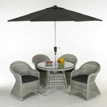 Cleobury 4 Seater Dining Set