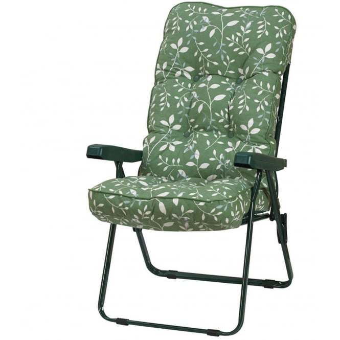 Glendale Deluxe Country Green Recliner