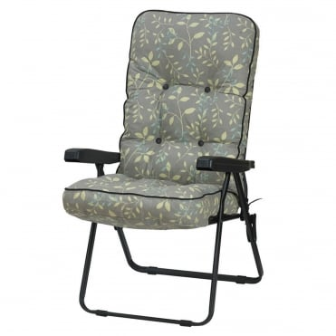 Deluxe Country Teal Recliner