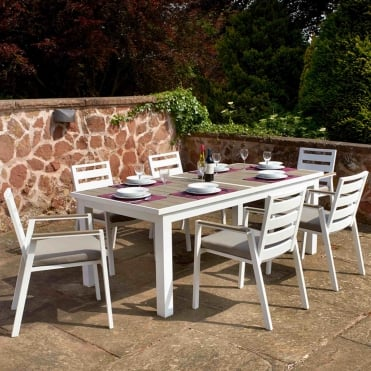 Leamington 8 Seater Dining Set