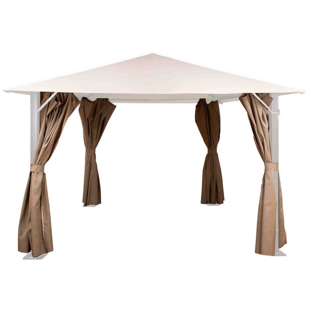 Glendale Replacement Curtains For Venice Gazebo 3m X 3m