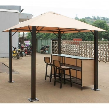 Venice Gazebo Bar Set