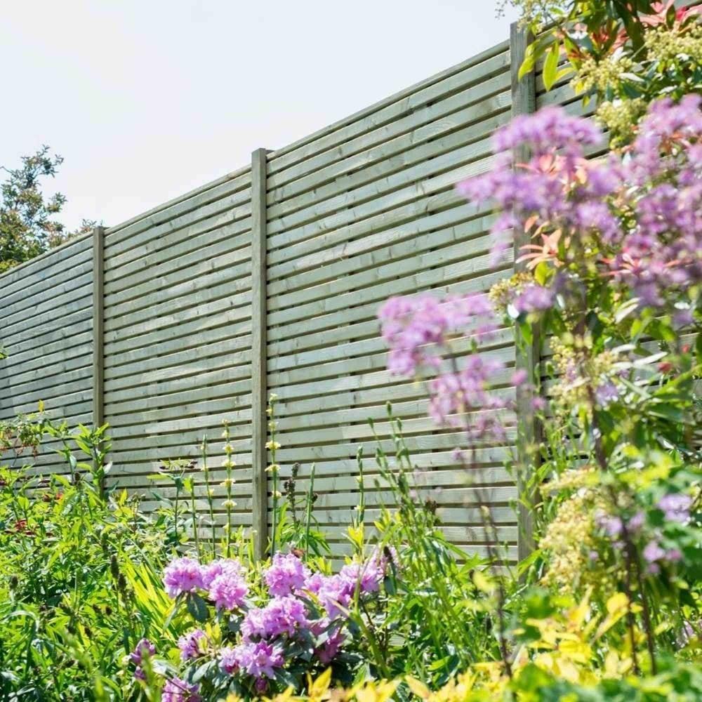 Grange contemporary fence panel 6ft garden street contemporary fence panel 6ft baanklon Images