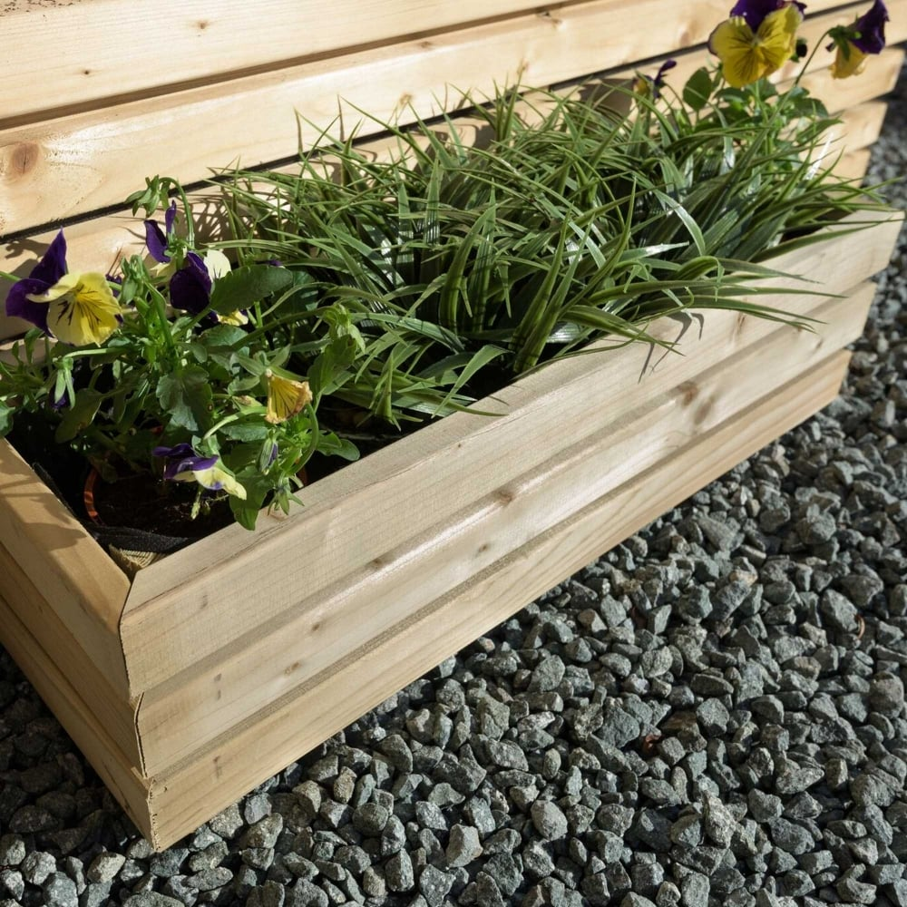 Grange Contemporary Rectangular Planter | GardenStreet