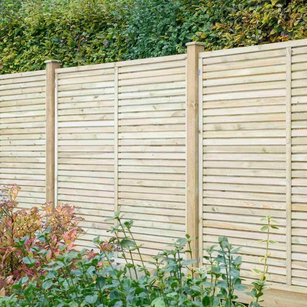 Grange contemporary vogue fence panel garden street contemporary vogue fence panel baanklon Images