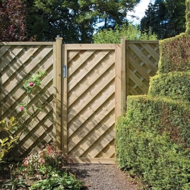 Elite Chevron Gate 1.8m