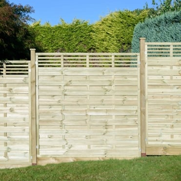 Elite Lille Fence Panel 1.8m