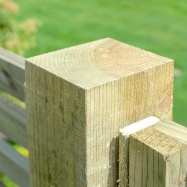 Elite Pressure Treated Natural Fence Post - 95mm Sq.