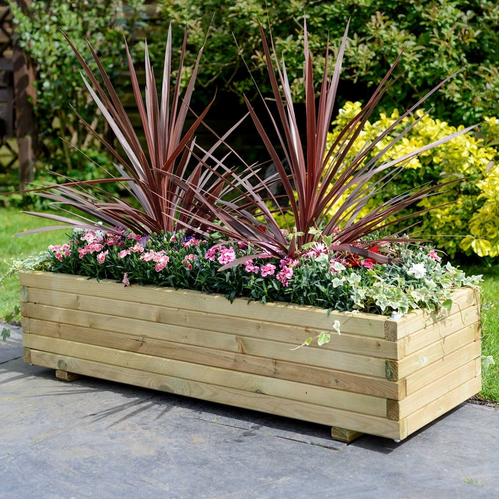 Grange Elite Rectangular Planter Garden Street