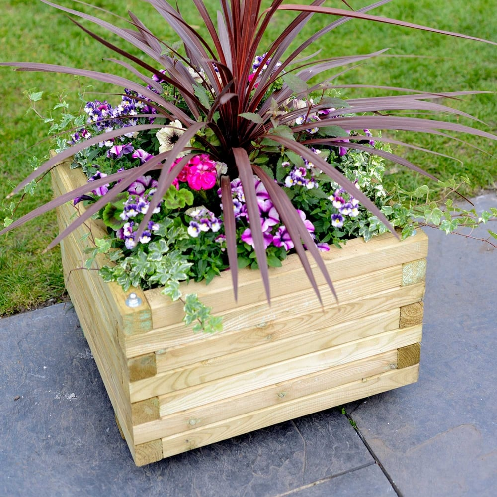 Grange Elite Square Large Planter Garden Street