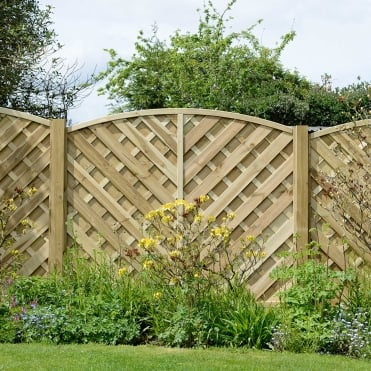 Elite St Lunairs Fence Panel