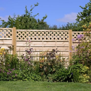 Elite St Malo Fence Panel