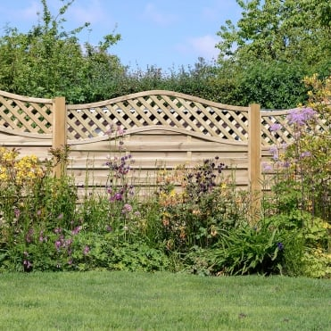 Elite St Meloir Fence Panel
