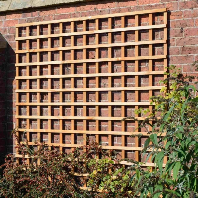 Grange Heavy Duty Square Trellis - Golden Brown