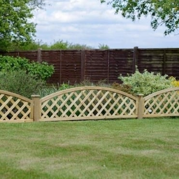 Madeley Convex Dome Trellis - 2ft