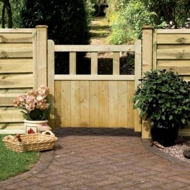 Solid Infill Path Gate 0.9m